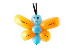 Mariposa torcida del globo Fotos de archivo libres de regalías