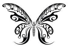 Mariposa tribal Foto de archivo libre de regalías