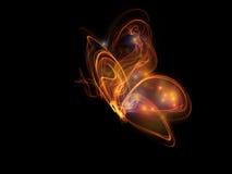 Mariposa virtual Imagen de archivo