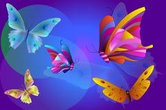 Mariposas Imagen de archivo libre de regalías