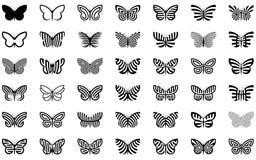 Mariposas stock de ilustración