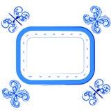 Mariposas azules Fotos de archivo libres de regalías