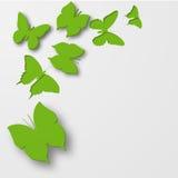 Mariposas de papel. libre illustration