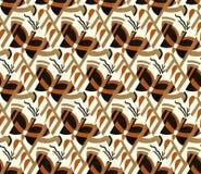 Mariposas del art déco Foto de archivo libre de regalías