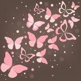 Mariposas - ejemplo. Fotografía de archivo libre de regalías