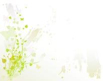 Mariposas en verde Fotografía de archivo