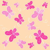Mariposas. inconsútil   Imagen de archivo libre de regalías