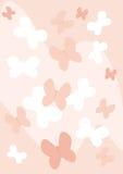 Mariposas rosadas Foto de archivo
