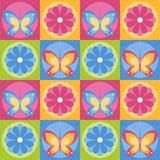 Mariposas y flores Imagen de archivo libre de regalías