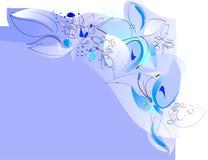 Mariposas y flores - frontera jovial del resorte Foto de archivo libre de regalías