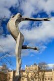Maris Rudolfs Leipa Monument Royalty Free Stock Photography
