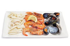 Mariscada, typical spansih cooked seafood Stock Image