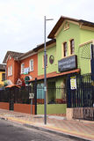 Mariscal οδός Foch στο Κουίτο, Ισημερινός Στοκ εικόνα με δικαίωμα ελεύθερης χρήσης