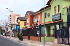 Mariscal улица Foch в Кито, эквадоре Стоковое Фото