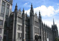 Marischal College Aberdeen. Exterior of Marischal College, Aberdeen, Scotland Stock Image