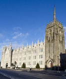 Marischal College, Aberdeen. Marischal college is second largest granite building in the world which is located on Broad Street, Aberdeen, Scotland. The  present Stock Images