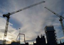 Marischal Square development, Aberdeen, Scotland Royalty Free Stock Images