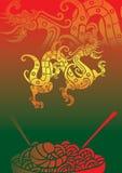 Marisco chinês Ilustração Stock