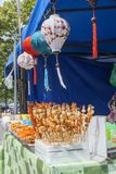 Marisco no festival asiático do alimento da rua Fotos de Stock