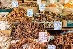 Marisco secado tailandês imagens de stock