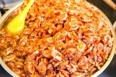 Mariscos cocinados del camarón Imagen de archivo