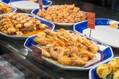Mariscos en Sydney Fish Market Imágenes de archivo libres de regalías