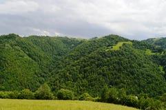 Marisel town. In the Apuseni mountains in Transylvania Romania Stock Images