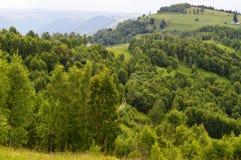 Marisel town. In the Apuseni mountains in Transylvania Romania Royalty Free Stock Image