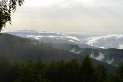 Marisel town. In the Apuseni mountains in Transylvania Romania Stock Photos