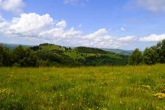 Marisel town. In the Apuseni mountains in Transylvania Romania Stock Photography