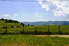 Marisel town. In the Apuseni mountains in Transylvania Romania Royalty Free Stock Photography