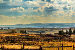 Marisel. Is a village in Apuseni mountains, Cluj county, Romania Royalty Free Stock Photography