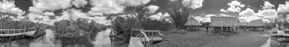 MARISMAS, FL - 28 DE MARZO DE 2018: Panora del parque nacional de los marismas fotos de archivo libres de regalías
