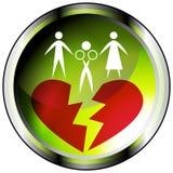 Marital Affair Icon. An image of a marital affair icon Royalty Free Stock Photo