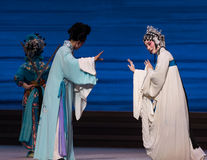 """Marital affection-The seventh act Disintegration of families-Kunqu Opera""""Madame White Snake"""". Legend of the White Snake is one of the most famous tales Royalty Free Stock Photo"""