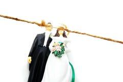Marital conflict Stock Photo