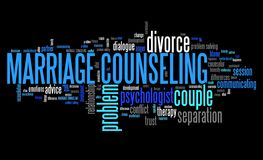 Marital counseling Stock Photography