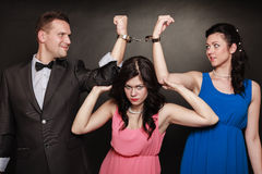 Marital infidelity concept. Royalty Free Stock Photography