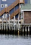 Maritiem visserijdorp royalty-vrije stock foto's