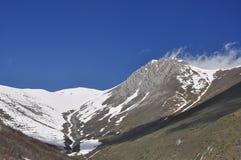 Maritieme Alpen, alpiene piek. royalty-vrije stock fotografie