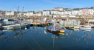 Maritim festival i brittany Arkivbilder