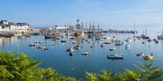 Maritim festival i brittany Royaltyfria Bilder