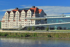 Maritim hotel in Dresden Stock Images