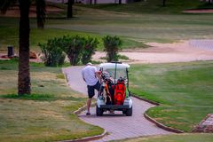 Maritim Jol Ville kij golfowy Obrazy Stock