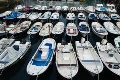 maritim mundaka port Royaltyfria Bilder