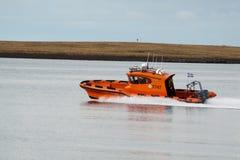 Maritim sökande- och räddningsaktionskyttel Arkivfoton