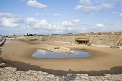 maritima hippodrome caesarea римское Стоковые Изображения