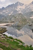 Maritime Alps, Italy. Mountain lake Royalty Free Stock Image