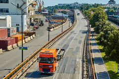 Maritime cargo port of Odessa Royalty Free Stock Photography