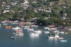 Maritime city of Santa Marta. Royalty Free Stock Photo